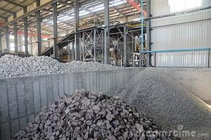 produccion mineral