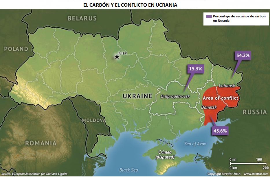 Carbón en Ucrania